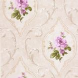 Tudor Rose Wallpaper DE41446 By SK Filson For Dixons Exclusive